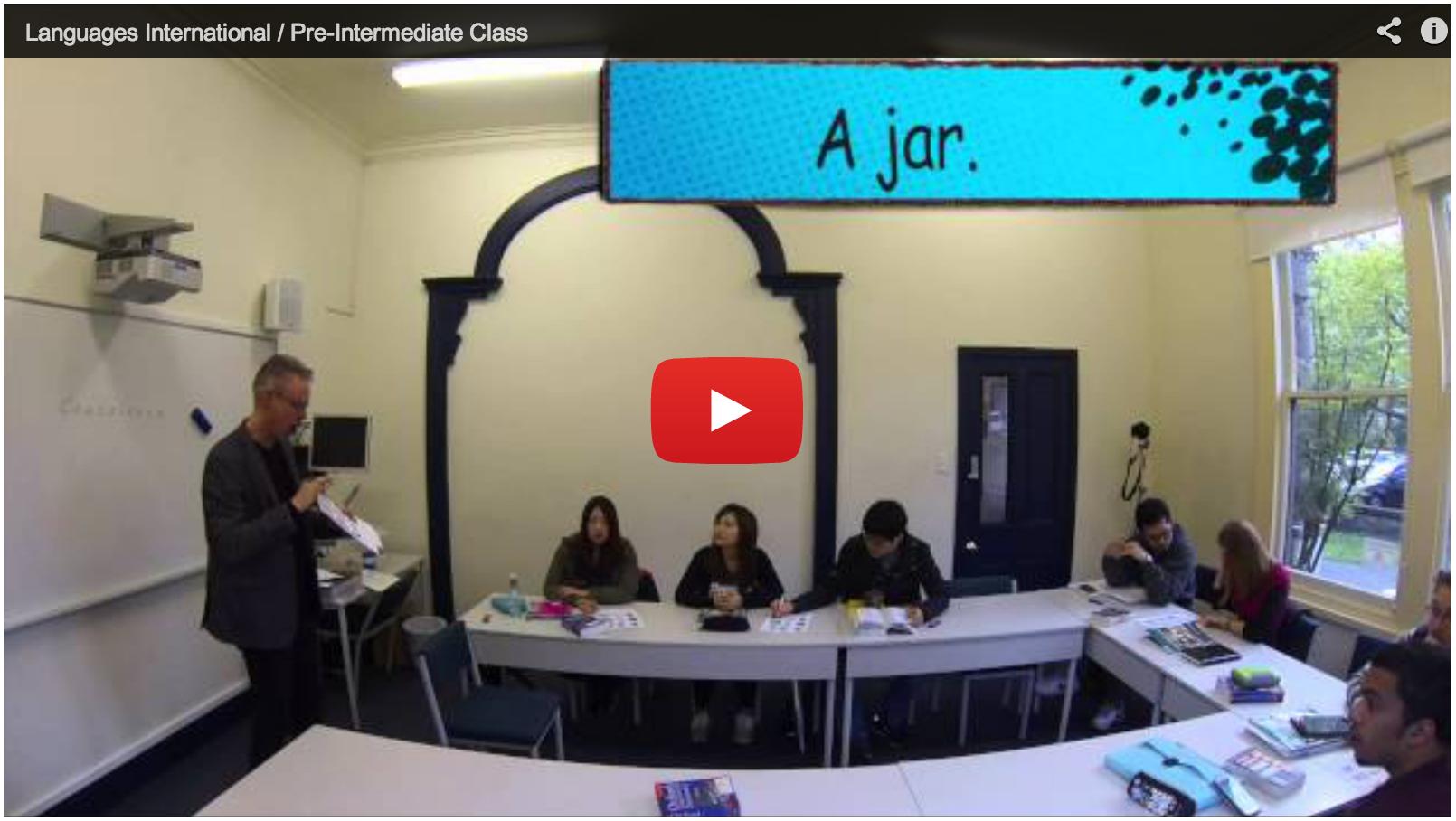 Урок английского в Languages International