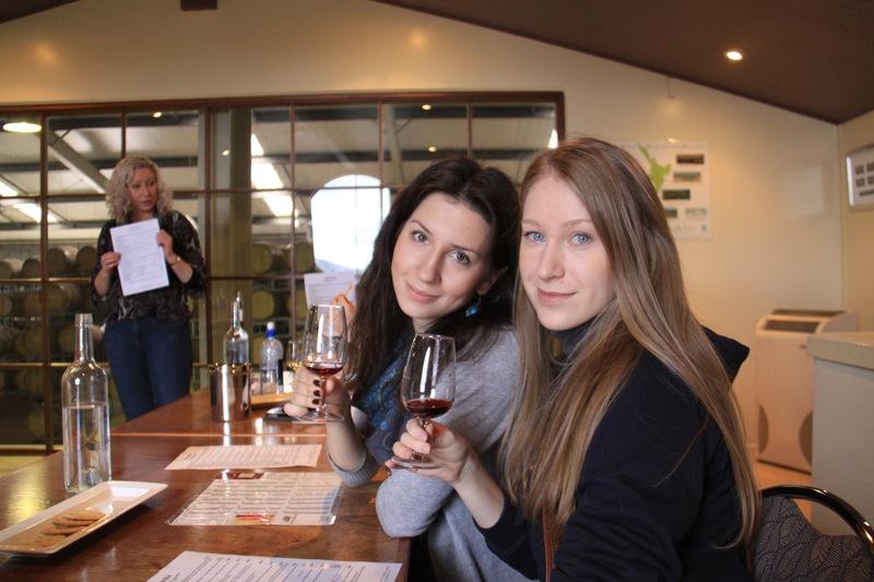 Поездка на винодельни студентов из Languages International