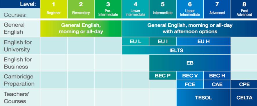 О курсах в Languages International